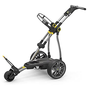 POWAKADDY C2i COMPACT 2018 GOLF TROLLEY +18 HOLE LITHIUM
