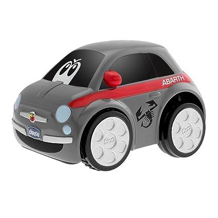 Chicco 00007331000000 Fiat 500Abarth Macchina Elettronica Racer, Grigio