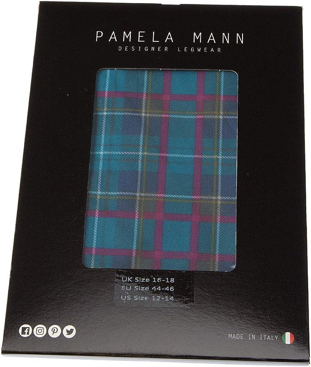 Pamela Mann Jackson Plaid Tartan Tights