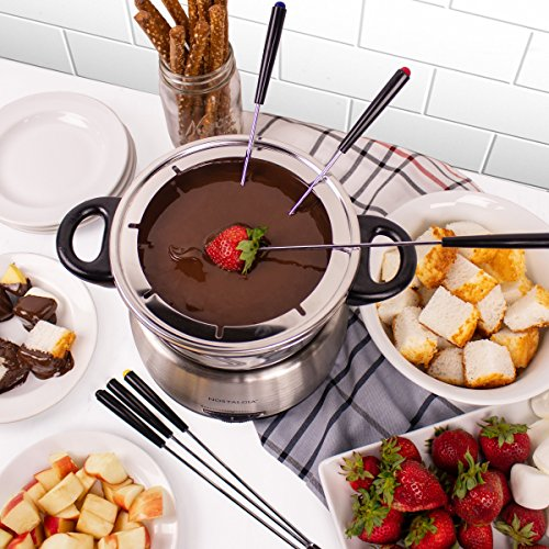 Nostalgia FPS200 6-Cup Stainless Steel Electric Fondue Pot by Nostalgia (Image #5)