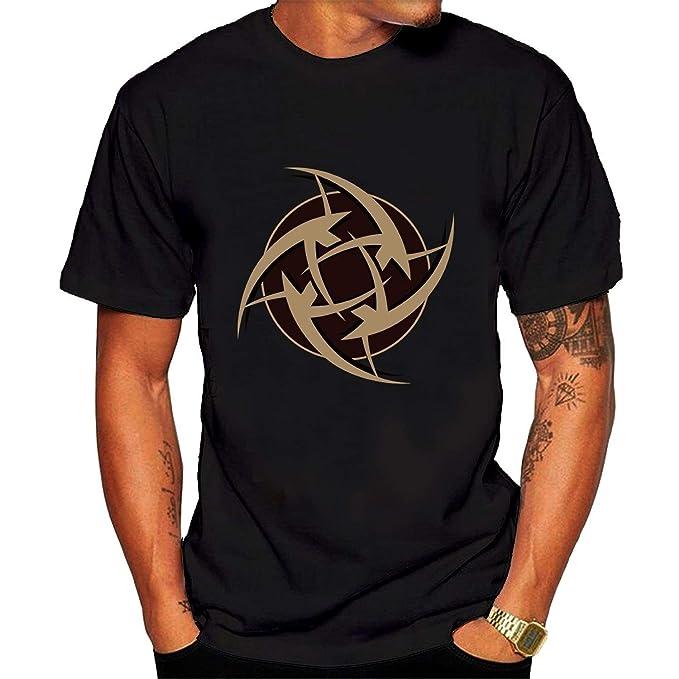 Team Ninjas In Pyjamas Logo Fashion Summer Mens Cotton T ...