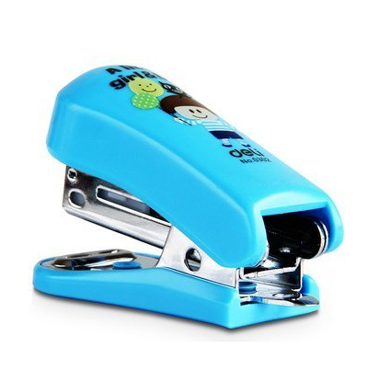 BXT Mini Potable Stapler with Built-in Staple Remover, 12 Sheets Capacity