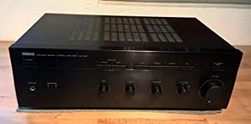YAMAHA AX-390 amplificador estéreo colour negro