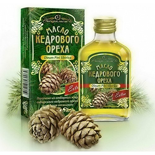 Image of Extra Virgin Siberian Pine Nut Oil 3.4 fl oz/ 100 ml