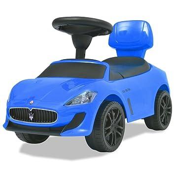 vidaXL Coche Correpasillos de Niños Azul Automóviles Juguetes ...