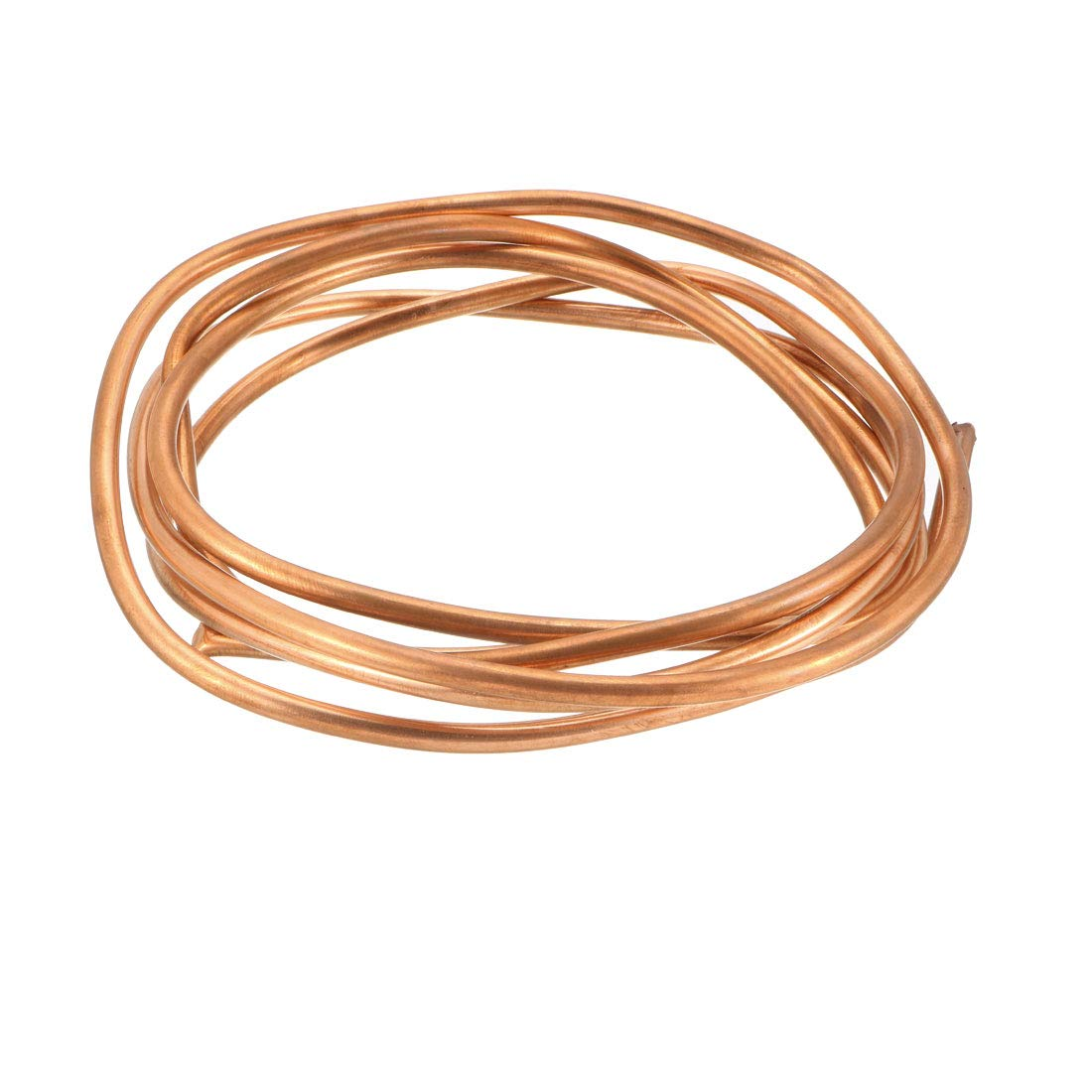 """uxcell Refrigeration Tubing, 13/64"""" OD x 5/32"""" ID x 6.5 Ft Soft Coil Copper Tubing"""