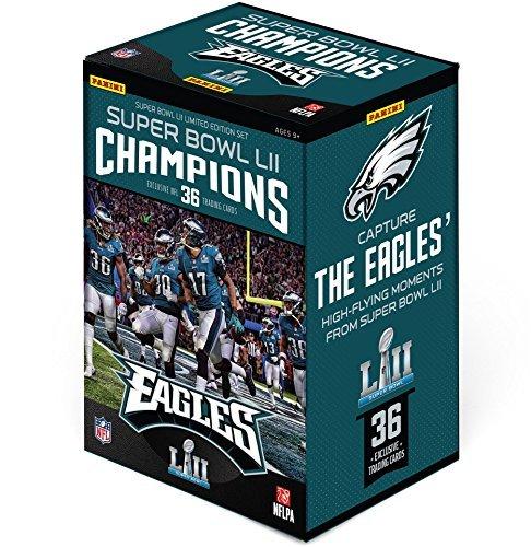 Sports Memorabilia 2017 Panini Instant Philadelphia Eagles Super Bowl LII Champions Complete Trading Card Set (36 Cards) - Fanatics Authentic - Bowl Authentic Super