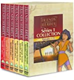 Friends and Heroes DVD Series 1 Pack Multi-Language - Includes Children's Bible Stories of Jesus, Moses, Joseph, Daniel…