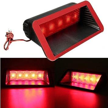 Tail Light Assemblies Universal Red 14 LED 3rd Auto Car Brake Rear Tail Light High Mount Stop Lamp 12V