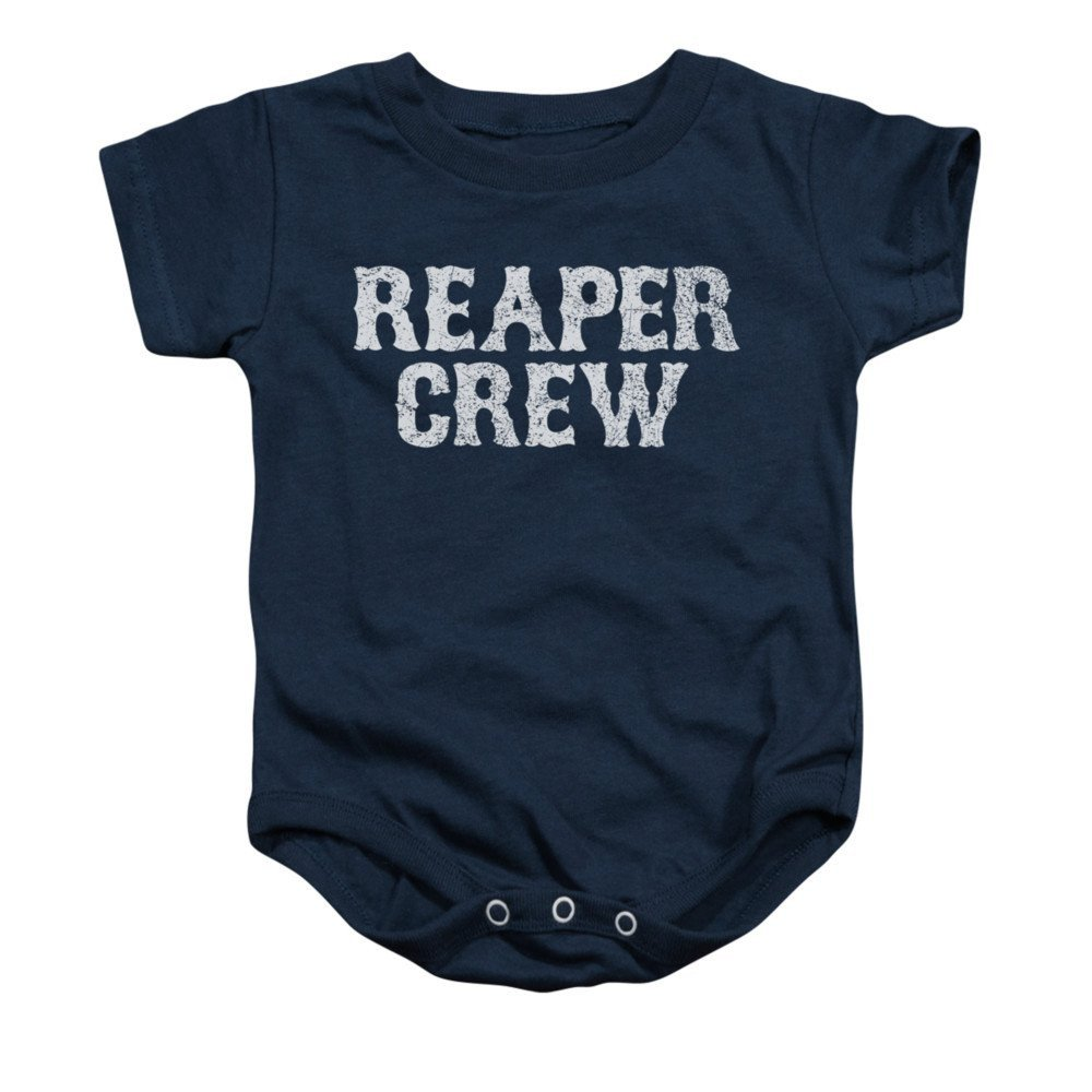 Sons Of Anarchy Reaper Crew Baby Onesie