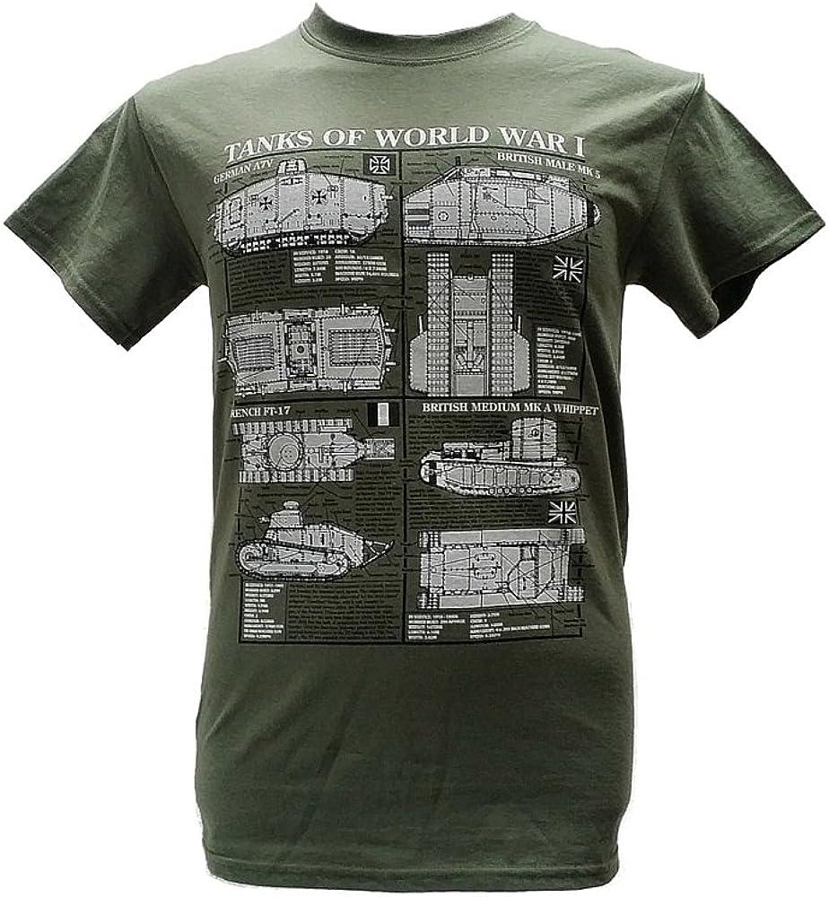 The Wooden Model Company Ltd De la Polinesia Francesa, British ya los Tanques en la Plaza de alemán - Guerra Mundial I/Diseño Militar de Pareja de ...