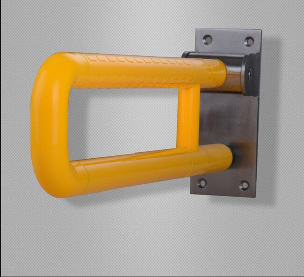 GRJH® バスルーム手すり、バスルーム安全性ノンスリップステンレススチールアームレスト600 * 136mm 滑りにくさ ( 色 : イエロー いえろ゜ ) B07CBSNDWK  イエロー いえろ゜