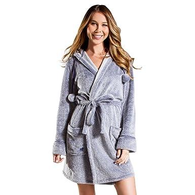 be700257e0 New PJ Salvage Denim Blues Navy M Womens Robe at Amazon Women s ...