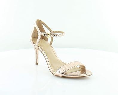 00fcb6c03194 Michael Kors Simone Mid Sandal Women s Heels Soft Pink Size ...