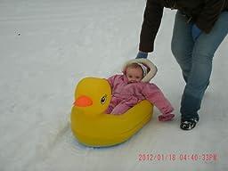 Amazon Com Munchkin White Hot Inflatable Duck Tub Baby