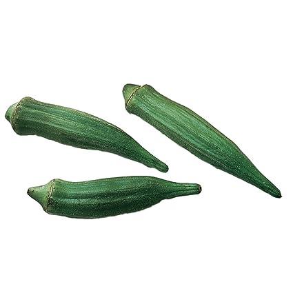 Amazon Burpee Clemson Spineless Okra Seeds 250 Seeds Garden