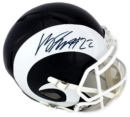 Autographed Marcus Peters Helmet - St Louis Riddell Speed Full Size -  Autographed NFL Helmets d33b77034
