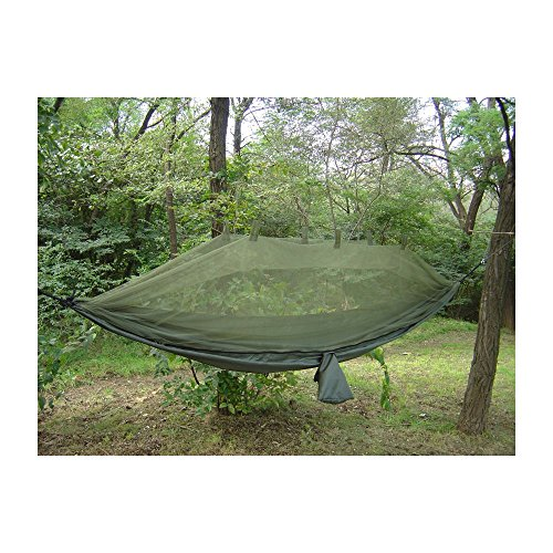 Snugpak Jungle Hammock With Mosquito Net Olive