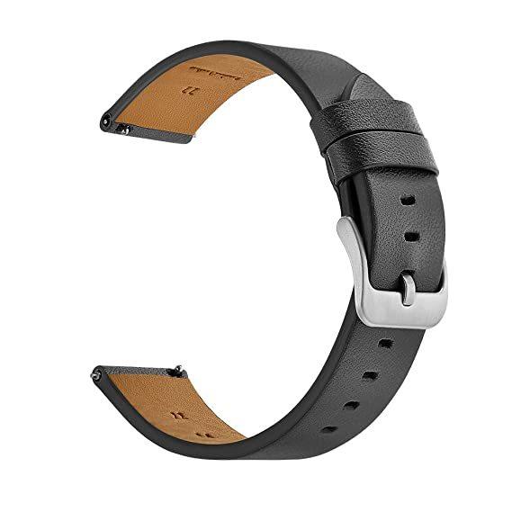 Kartice For Samsung Gear S3 Classic / Frontier Smartwatch Band ,22MM Genuine Leather Strap Replacement Buckle Strap Wrist Band for Samsung Gear S3 ...