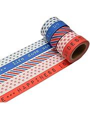 k-limit Washi Tape Set Masking Tape Adhesive Scrapbooking DIY Craft Decor