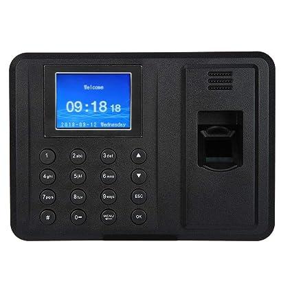 2.8 Zoll Fingerprint Zeiterfassung Fingerabdruck Gesicht Passwort Karte Scanner