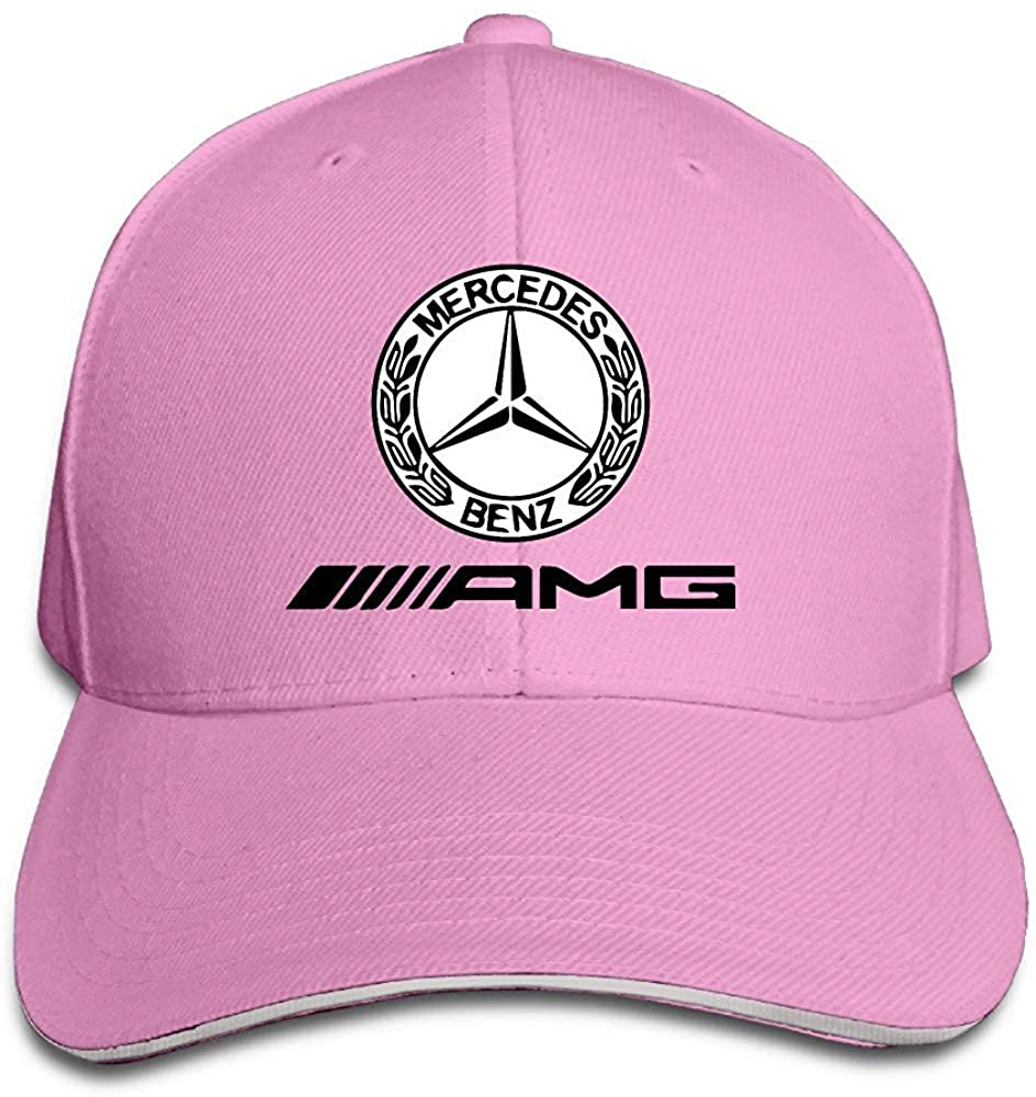 Obaeson K-Fly2 Unisex Adjustable Mercedes AMG Logo Baseball Caps Hat One Size Pink