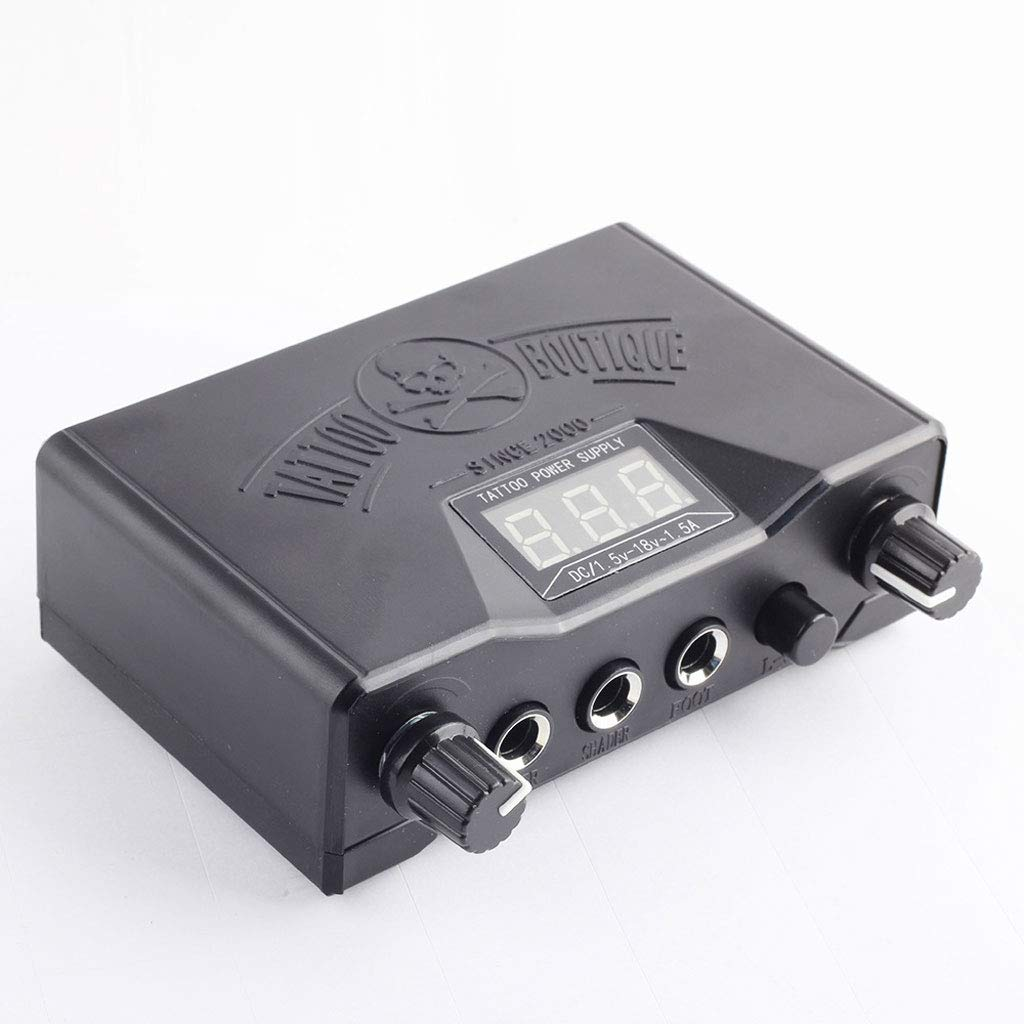IUUH Tattoo Power LCD Lion Head Regulador Secant Fog Equipo ...
