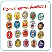 AllerMates Kids Medical Alert Allergy Bracelet Children's Wristband Charms- Many Varieties and Colors for All Conditions