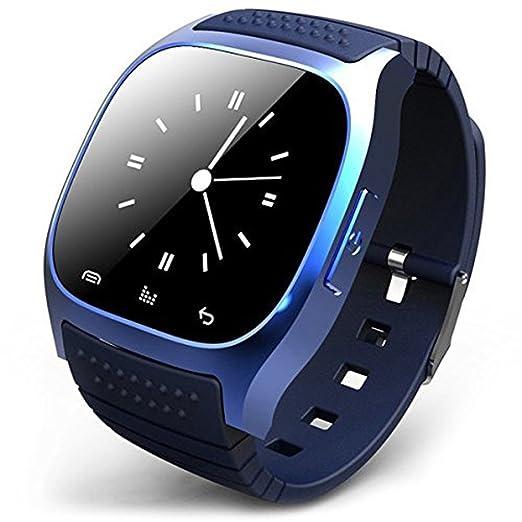 Rwatch M26 inteligente Reloj Bluetooth del teléfono Conveniente para los teléfonos Android / Contestación de llamadas / SMS ...