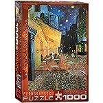 Eurographics Caf At Night Vincent Van Gogh Eg60002143 Puzzle 1000 Pezzi