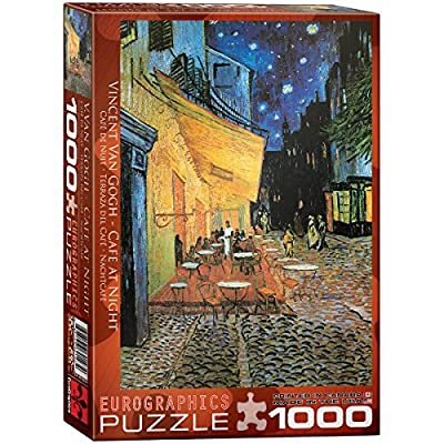 Eurographics Caf At Night Vincent Van Gogh Eg60002143 Puzzle 1000 Pezzi