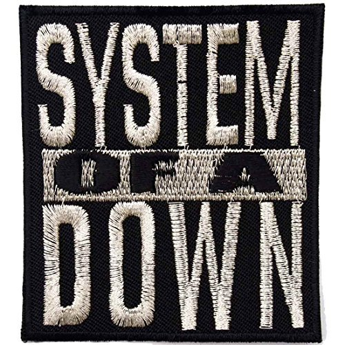 (System of a Down heavy metal punk rock band Iron On Patches Silver # WITH FREE)