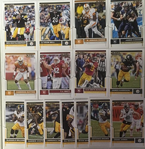 2017 Panini Score Football Pittsburg Steelers Team Set 15 Cards W/Rookies