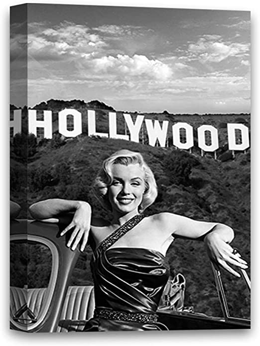 100/% Cotton Poster Female Legend Art Print Celebrity Fashion Marilyn Monroe