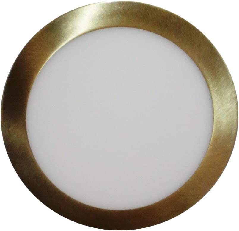 18 W Interfan Downlight Redondo Blanco