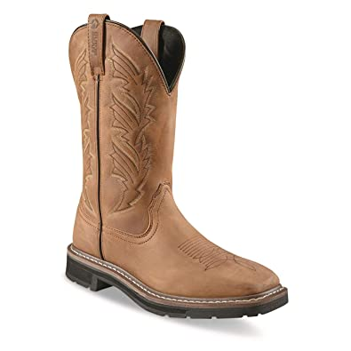 25d4b4eea9c6d Guide Gear Men's Square Toe Pull-On Western Boots
