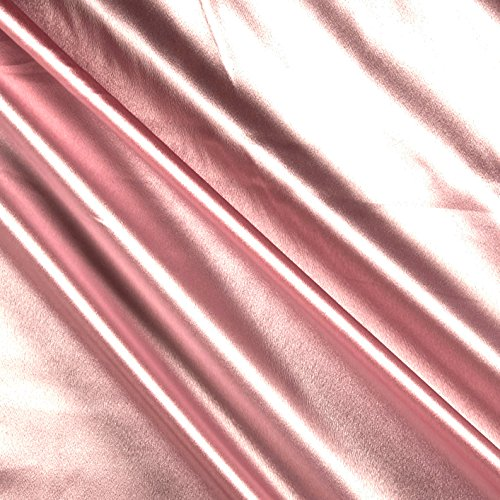 Ben Textiles Heavy Crepe Back Satin Pink Fabric by The Yard - Pink Crepe Back Satin