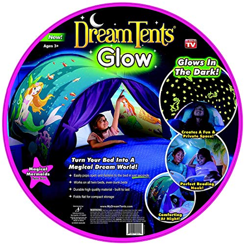 Dream Tents Glow in The Dark Magic Mermaids