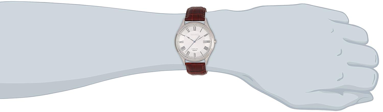 Seiko Reloj de Cuarzo para Hombre con Correa de Cuero - SGEG97P1: Amazon.es: Relojes