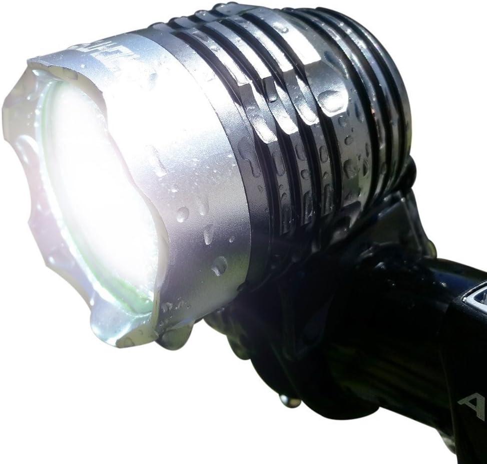 6000LM 2 X CREE XM-L T6 LED Headlight USB Waterproof 5mode Lamp Bicycle Headlamp