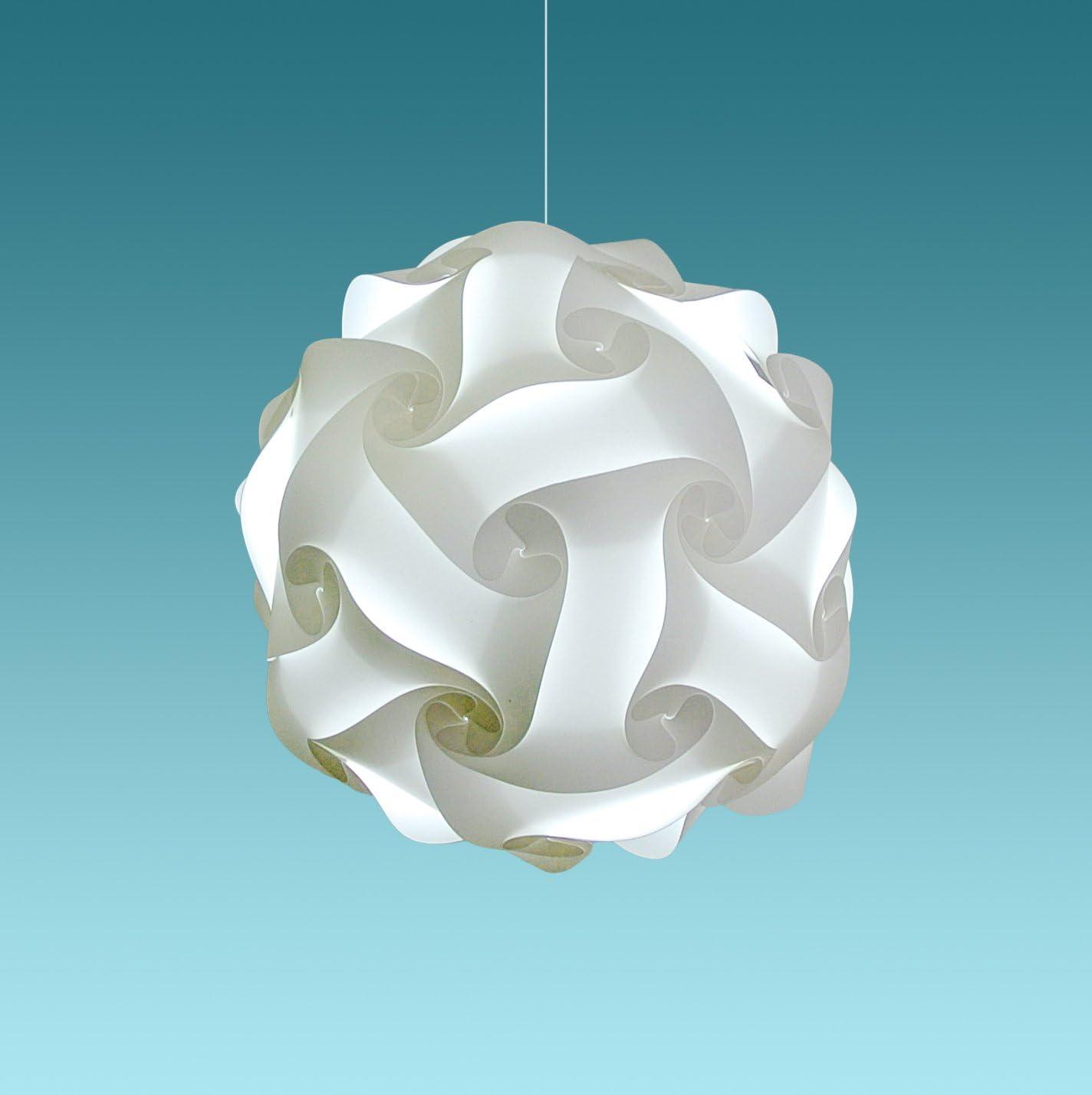 Akari Lanterns Medium Swirl 16 Wide