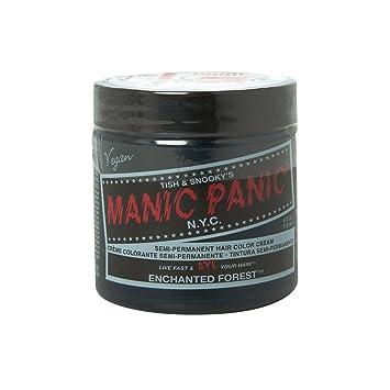 Manic Panic Semi Permanent Hair Dye Enchanted Forest Green4 Fl Oz
