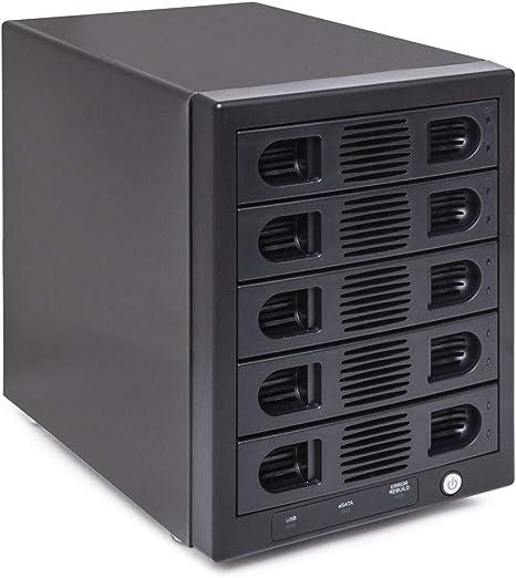 """4 Bays Drives Box For 2.5/"""" 3.5/"""" SATA SAS IDE HDD SSD Enclosure Storage Cabinet"""