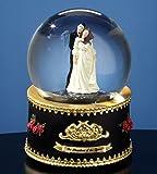 Phantom of the Opera Phantom and Christine Rotating Water Globe
