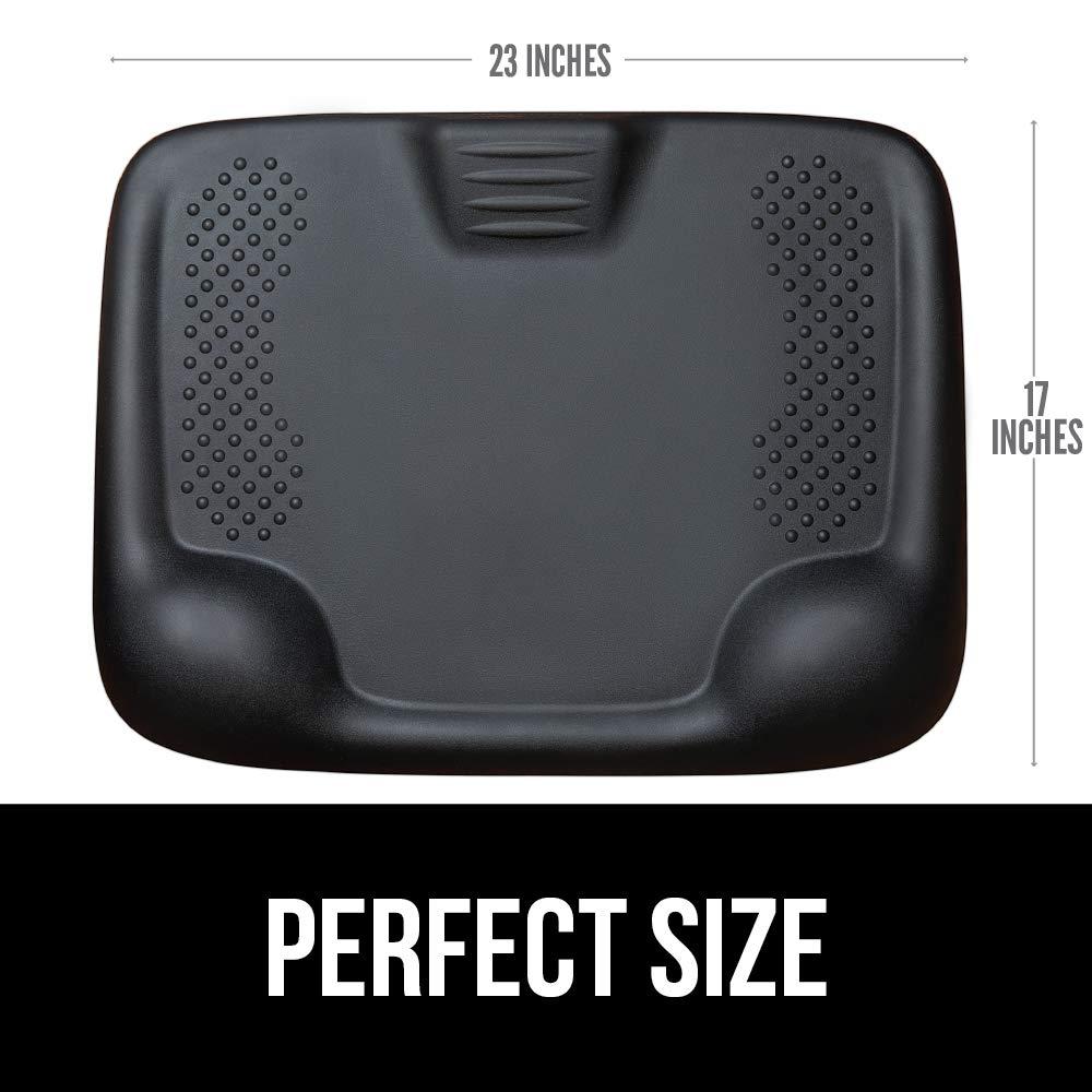 Kangaroo Brands Original Premium Anti-Fatigue Comfort Standing Mat, Not-Flat Ergonomically Engineered Floor Pad, Perfect Active Mats for Kitchen or Office Stand Up Desk, Non-Toxic, Waterproof (Black) by Kangaroo Brands (Image #8)