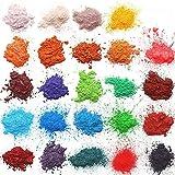 Arts & Crafts : Mica powder – Soap Making Kit – Powdered Pigments Set – Soap making dye – 24 coloring - Hand Soap Making Supplies - Resin Dye - Mica Powder Organic for Soap Molds - Bath Bomb Dye Colorant – Makeup Dye