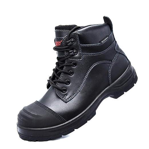 GPFSHOES Soldador Botas, Zapatos de protección de los ...