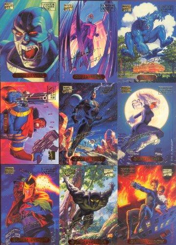 Fleer 1994 Marvel Masterpieces Signature Edition Set NM/M