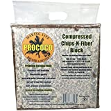 Prococo Chips-N-Fiber Premium Coconut Husk Coconut Husk organic coconut coir chips and fiber makes 75 quarts of coco coir growing media for planting …