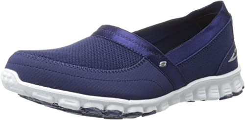 Skechers EZ FlexTake It Easy Damen Sneakers, AzulBlanco leXLQ